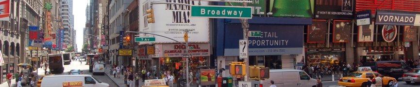 Ocio en Nueva York—Vuelos a Nueva York: Ofertas de viajes y vuelos baratos a Nueva York, ..., Manhattan, Broadway, …